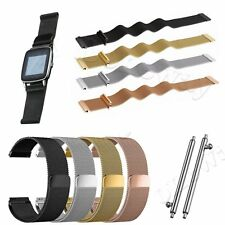 Milanese Stainless Mesh Watch Band Strap fr ASUS ZenWatch WI500/Zenfone Watch 2