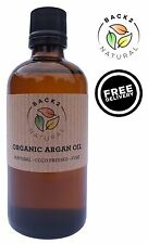 100% Organic Moroccan Cold Pressed Pure Argan Oil 100/50ml - Hair, Body & Skin