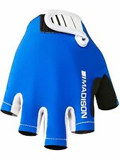Madison Royal Blue Tracker Kids MTB Fingerless Gloves