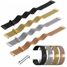 Metal Stainless Magnetic Milanese Loop Watch Band Strap For ASUS ZenWatch 2 2Gen
