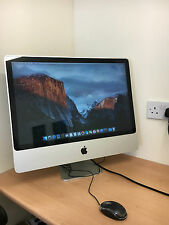 "APPLE iMAC 24"" Intel Core 2 Duo 2.8GHz 4GB 500GB EL CAPITAN DESKTOP COMPUTER UK"