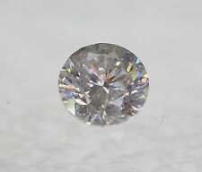 Certified 1.04 F SI2 Round Brilliant Enhanced Natural Diamond 6.34mm VG VG VG