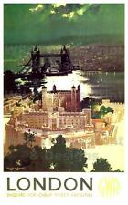 Vintage Railway POSTERS: LONDON GWR :  A2 & A3 (200)