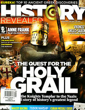History Revealed Magazine October 2015 Issue 21 NEW Quest for the Holy Grail