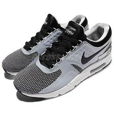 Nike Air Max Zero Essential Black Grey Men Classic Shoes Sneakers 876070-002