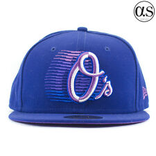 New Era 59FIFTY 'Logo Race' Baltimore Orioles Blue/Purple/White Fitted Cap