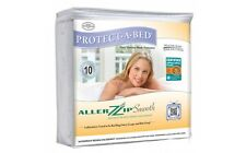 PROTECT A BED - ALLERZIP SMOOTH MATTRESS ENCASEMENT PROTECTOR - 10 YEAR WARRANTY