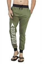 Clifton Mens FRL Printed Coloured Slimfit Trackpant-Olive-White Endurance