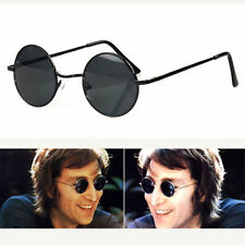 New John Lennon Style Round Sunglasses Vintage 60s Retro Glasses Sunnies Shades