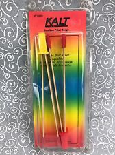 Two Kalt Developing Print Bamboo Tongs Photo Processing Picture Photograph Tools