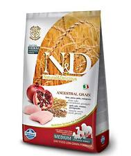 Farmina N&D Low Ancestral Grain Pollo e melograno Adult Medium per cani