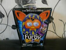 BOXED HASBRO FURBY BOOM PEACOCK BLUE WAVES LIGHTNING INTERACTIVE ELECTRONIC PET
