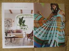 lot 2 2017 ANTHROPOLOGIE catalogs march boho fashion & spring house & home