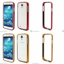 Slim Premium Aluminium Metal Bumper Case Cover For Samsung Galaxy S4 i9500 i9502