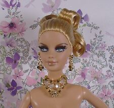 BARBIE FASHION ROYALTY SILKSTONE BIJOUX JEWERLY SWAROVSKI