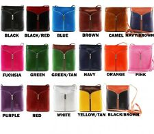 WOMENS LADIES DESIGNER STYLE STRAP LEATHER SMALL CROSS BODY SMALL HANDBAG BAG