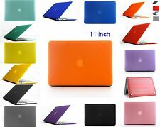"For Apple Mac MacBook Air Crystal Hard Shell Cover Case Laptop 11""  Inch"