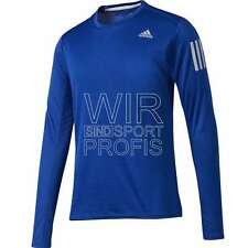 NEU adidas Response Long Sleeve Tee Herren Laufshirt M BP7491 Training Jogging