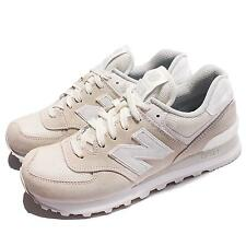 New Balance ML574SEF D Ivory Suede Classic Men Running Shoes Sneakers ML574SEFD