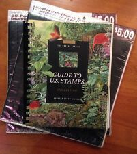 THE US POSTAL SERVICE GUIDE TO US STAMPS 37TH ED + STAMP COLLECTING SHEETS [2]