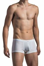"""Olaf Benz Men's RED 1472 Mini Pant (M/34"""") White Boxer Trunk Hipster Underwear"""