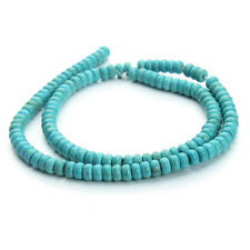 Loose Natural Stone Green Turquoise Beads Jewelry Necklace DIY 7 Size