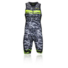 Zoot TRI LTD Mens Sleeveless Half Zip Bottoms Outdoors Triathlon Racesuit