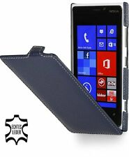 Stilgut Ultraslim, Genuine Leather Case For Nokia Lumia 920, Blue
