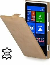 Stilgut Ultraslim, Genuine Leather Case For Nokia Lumia 920, Old Style Sand B..