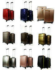 9 Design  Luggage Set Suitcase ABS Spinner Hard-Shell Trolley Cabin Hand Travel
