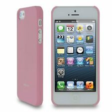 Roocase Ultra Slim Matte Shell Case For Apple iPhone 5S / 5 - Pink
