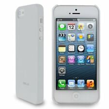 Roocase Ultra Slim Matte Shell Case For Apple iPhone 5S / 5 - White