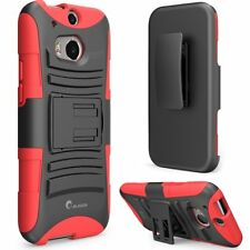 i-Blason All New HTC One M8 Case - Prime Series Dual Layer Holster Cover For ..