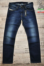 DIESEL BELTHER 814W 0814W 30 32 36 TAPERED NEW MENS JEANS STRETCH DARK BLUE BNWT