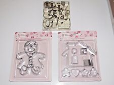 Hillys Kitchen Bake Your Own Gingerbread Woman House Number Shape Cookie Cutter