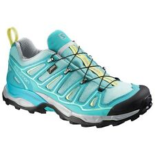 Zapatos Senderismo Trekking Outdoor Mujer SALOMON X ULTRA 2 GTX W Bubble Blue