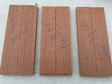 Leopardwood / Brazilian lacewood bookmatched knife scale / knife handle sets