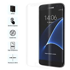 Moko 3-Pack Explosion Proof Screen Protector Films For Samsung Galaxy S7 Edge..