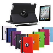 360 Rotating Smart Stand Leather Case Cover for Apple iPad 2/3/4 Air Air2