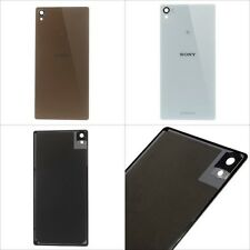 """Battery Door Replacement Back Door Cover for Sony Xperia Z3 5.2"""" with Adhesive"""