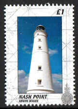 GB Locals: Nash Point South Wales Lighthouse Stamp PERF 1v Un. Mint