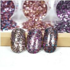 Nail Art - 2gr Irisierend Glitter Mix Staub Nageldesign Acryl Gel Nailart #N7