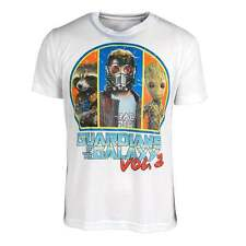 Official Guardians Of The Galaxy Vol. 2 Rocket Groot Starlord Truppe T-shirt