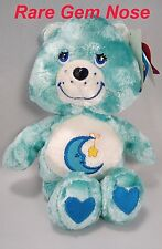 Blue Care Bears BEDTIME 80s Classic Collection Special Edition RARE GEM Nose