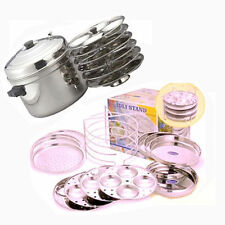 DALY USE YOU WILL GET IN ONE SET 1 COOKER+3 IDLI + 3DHOKLA 3 KHAMAN PLATE IDLI M