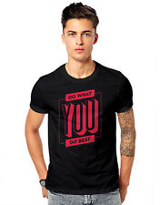 Do what Best  Successful Quality Unisex Casual T-shirt 180 GSM T-shirts