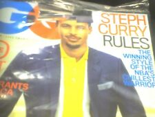 GQ Magazine MAY 2017 STEPHEN CURRY NEW FREE SHIPPING
