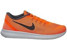 Mens NIKE FREE RN Total Orange Textile Running Trainers 831508 800