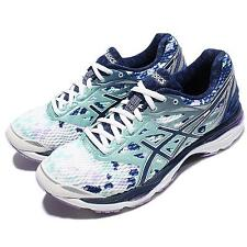 Asics Gel-Cumulus 18 LE Blue White Women Running Shoes Trainers T780N-0149