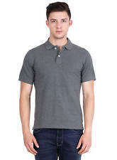 Basil Men's Polo T-Shirt Anthra Melange
